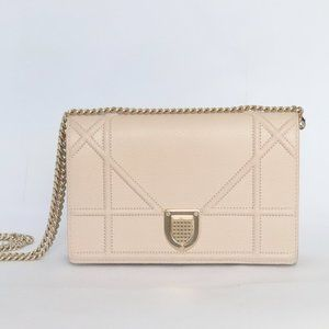 Diorama Dusty Pink Nude Pouch [Pre-Owned]